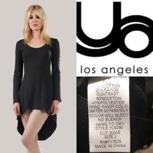 ♠️Ya Los Angeles Black Long Sleeved Dress♠️